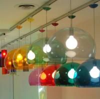 kartell fly lamps